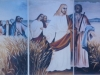 Mural de Jesus e Apóstolos